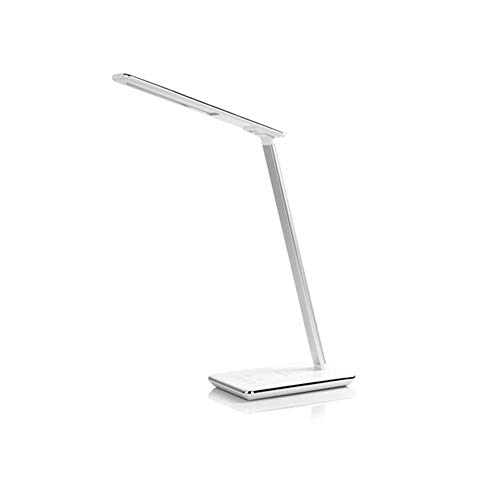 ZXC Home Wireless Charging tabel LED Desk Lamp 48st LED USB lamp dimbaar Eye-Protect 4 modi tafellamp